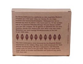 Gammaldags klädnypor 20-pack