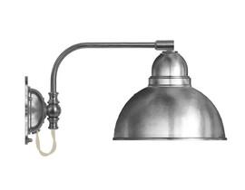 Vägglampa Gripenberg - förnicklad / metallskärm