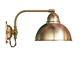 Vägglampa Gripenberg - mässing / metallskärm