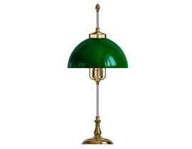 Bordslampa Swedenborg - mässing / grön glaskärm