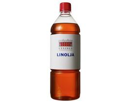 Linolja kokt kallpressad 1L