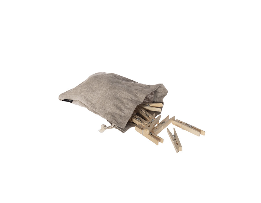Klädnypor i påse, 20-pack